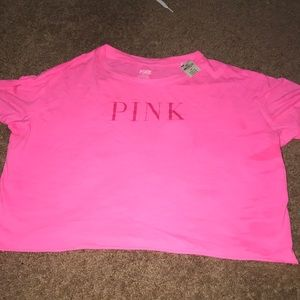 never worn small pink tee